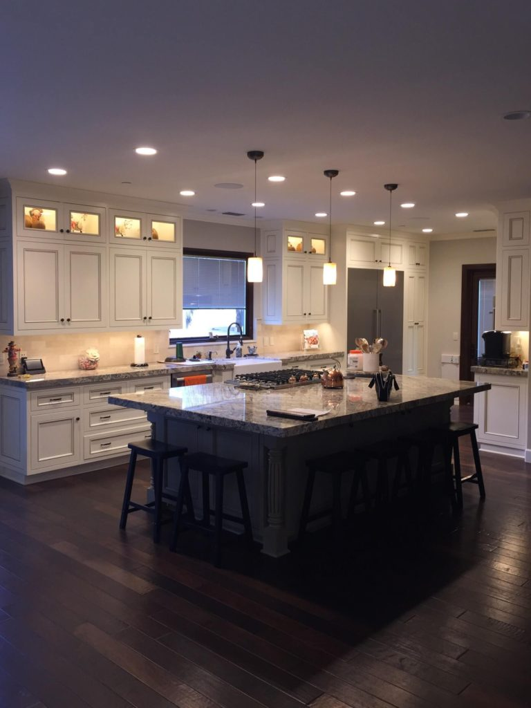 White Cabinet Kitchen by J. Carr Contracting, Orange County honest Construction