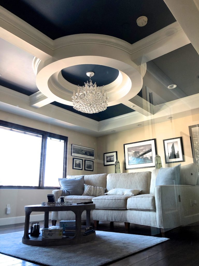 Luxury home with elegant ceiling, OC contractor